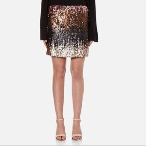 MinkPink sequin mini skirt Small